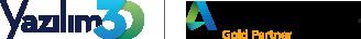 yazilim3d-autodesk-gold-logo