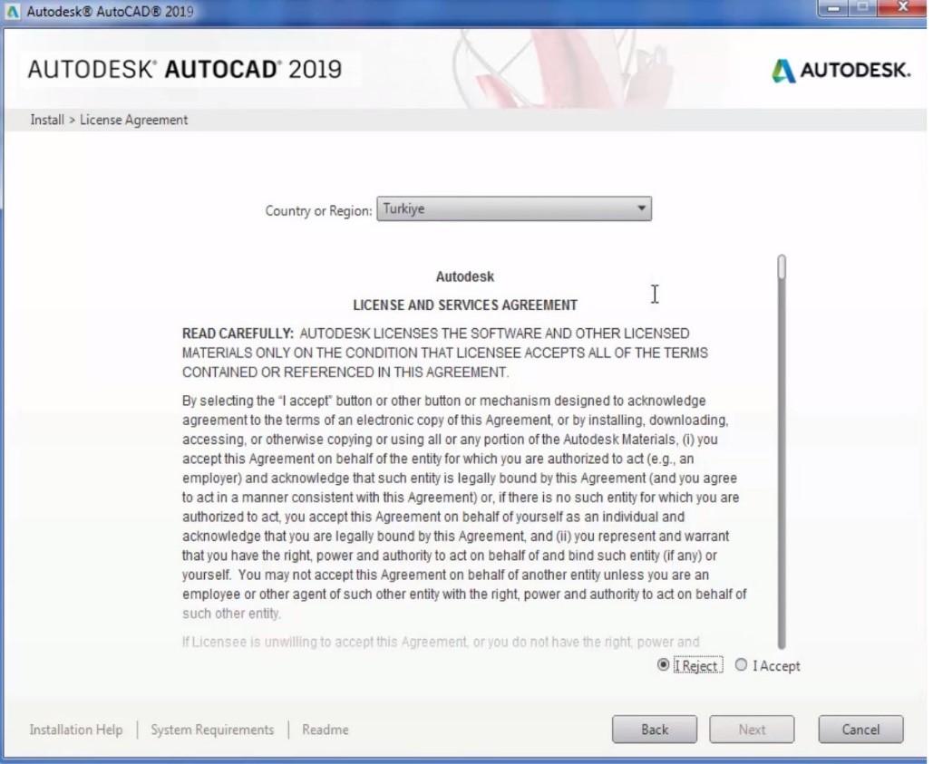 AutoCAD Kurulum ve Tek Bir Lisansın Bilgisayara Yapılandırılması 8