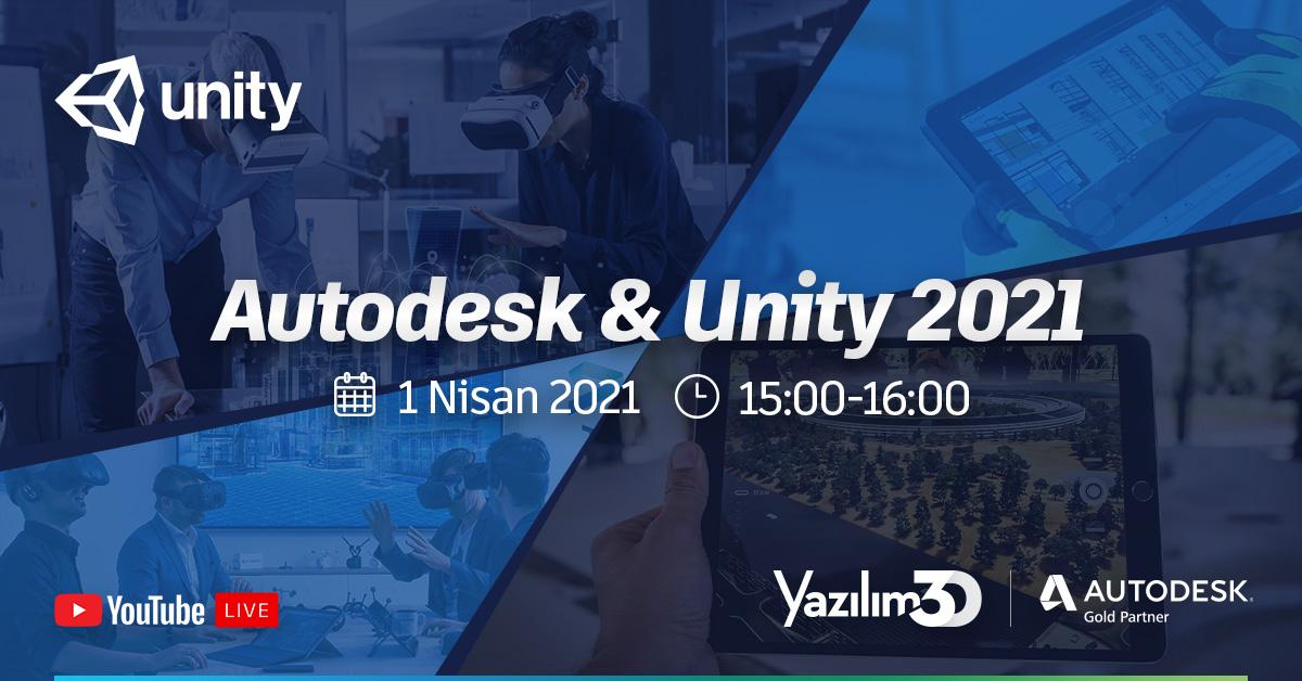 Autodesk & Unity 2021 Webinarı 28